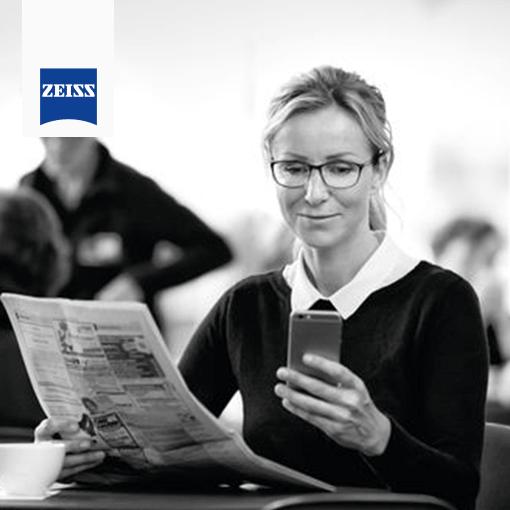 Digital Life Woman newspaper and watch-min